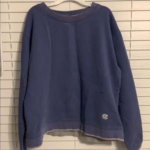 XL Purple Champion Sweatshirt